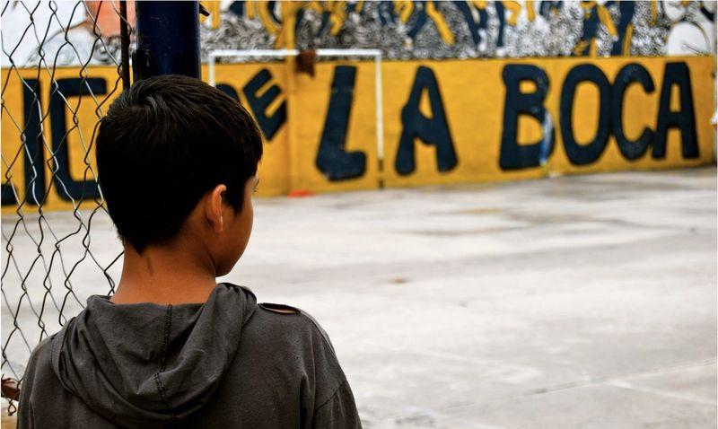 Football Boy Childhood Children Sport Cancha Ball Futbol Football Team Boca La Boca Buenos Aires Argentina The Portraitist - 2017 EyeEm Awards BYOPaper!