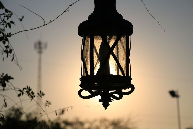 #light Silhouette Hanging Sunset No People Electricity  Outdoors Day Sky Close-up first eyeem photo