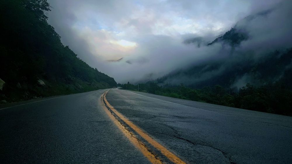 Landscape Mountain No People Outdoors Road Scenics The Way Forward Tranquility