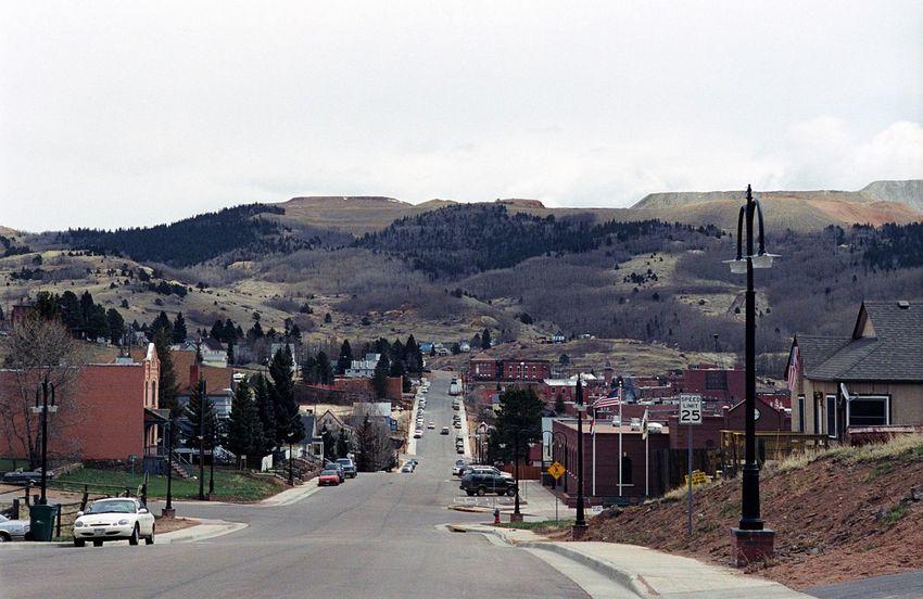 Cripple Creek Mining Town Wild West