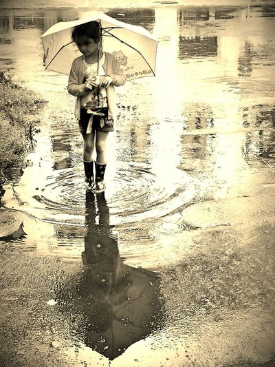 After rain...