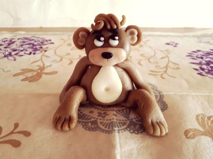 selfmade marzipanmonkey 🤗🐵 Homemade Selfmade Monkey Marzipan Marzipan Figures Little Monkey Monkey Love EyeEm Selects Close-up Figurine  The Still Life Photographer - 2018 EyeEm Awards