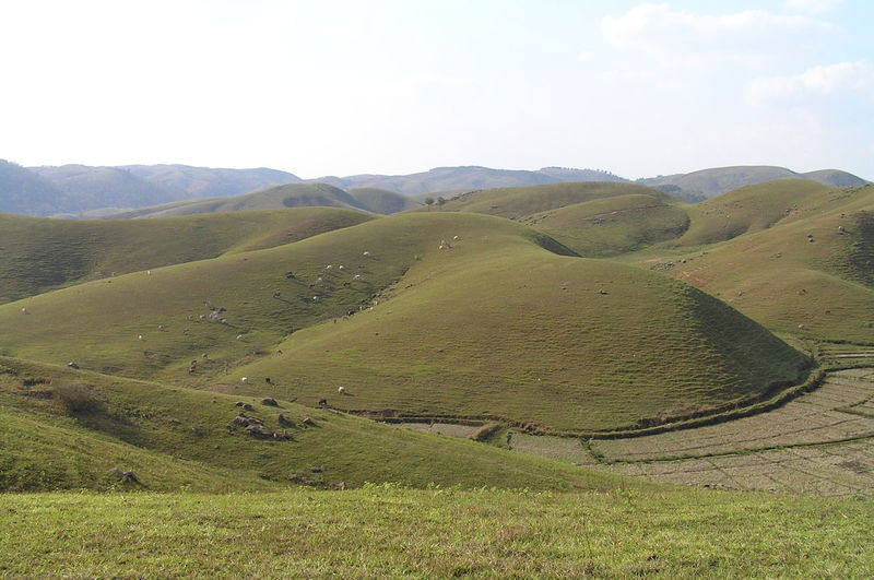 Granite Grass Hills India Landscape Nature Physical Geography Rocky Dunes Visual Creativity