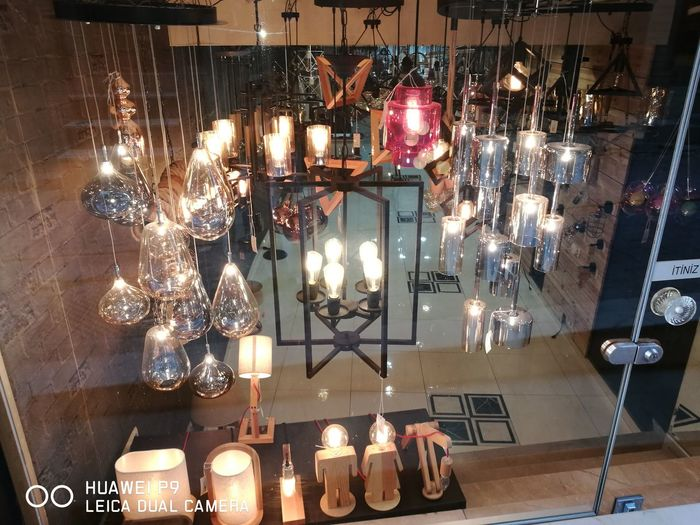 Lighting Equipment Hanging Retail  Large Group Of Objects Store Indoors  For Sale Illuminated Christmas Decoration Christmas Abundance Choice Arrangement No People Night Home Showcase Interior