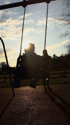 Playground Beautiful Day Springtime Aleksander Ciocia Siostrzeniec Sunny Day Enjoying Life Friday Plac Zabaw
