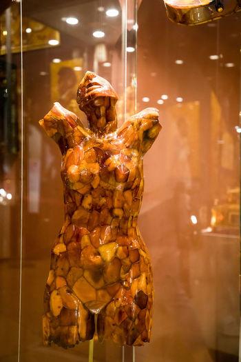 Amber Art And Craft Creativity Focus On Foreground Illuminated Representation Sculpture