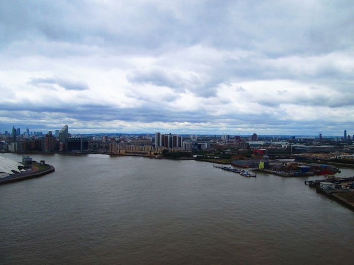 Architecture Building Exterior Built Structure City Cityscape Cloud - Sky Day No People Outdoors River Sky Thames Thames River The Thames Travel Destinations Water