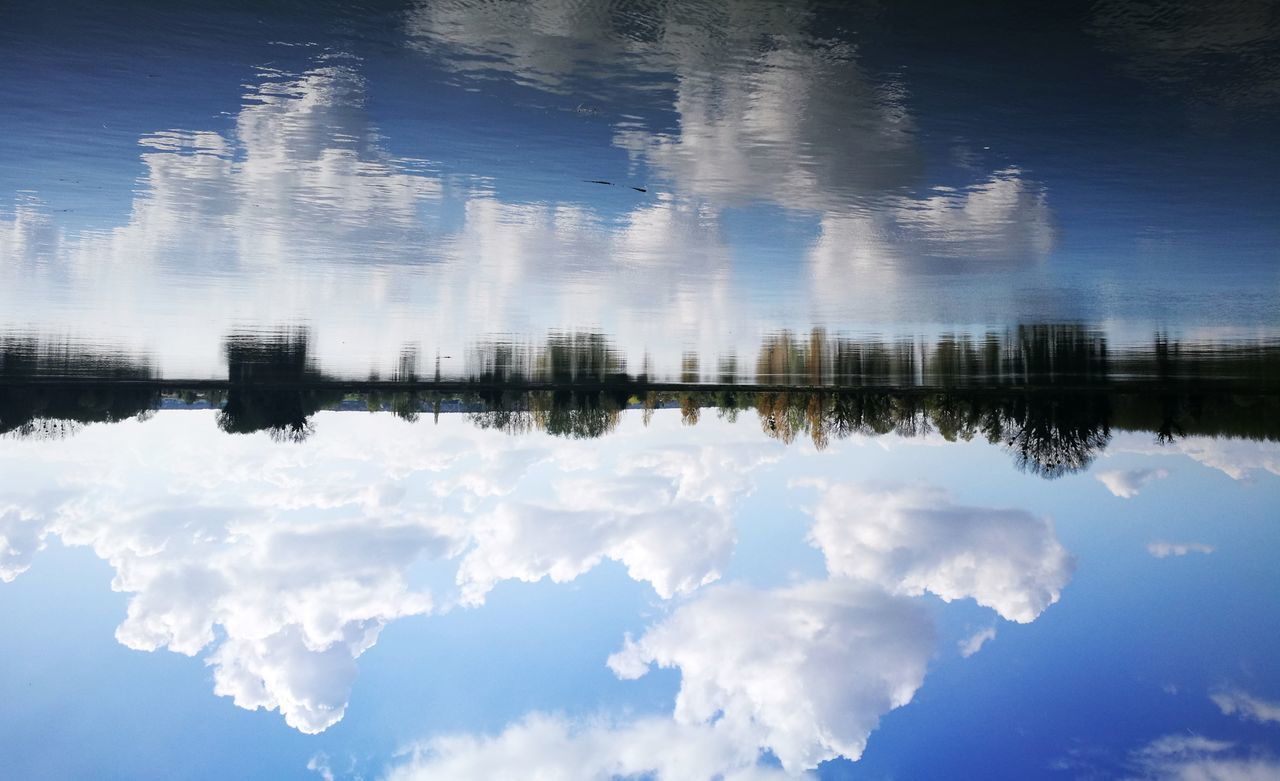 reflection, water, nature, lake, outdoors, waterfront, no people, sky, day, cloud - sky, tranquility, tranquil scene, beauty in nature, scenics