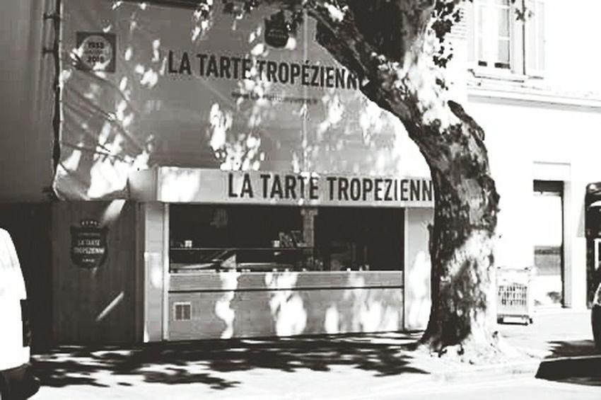 La tarte tropézienne Sainttropez
