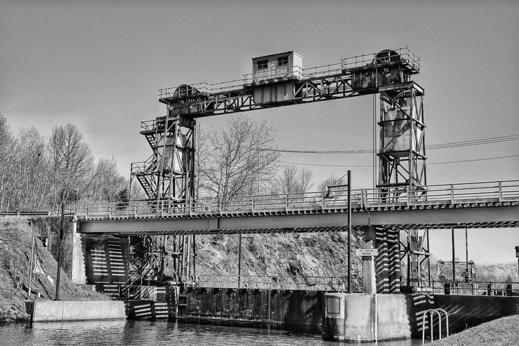 Monochrome Photography Built Structure Erie Canal Waterford Ny taking pictures Fuji Xt10 Fujilove Fujifilm Taking Photos Black & White Blackandwhite Monochrome Black And White Photography Mohawk River