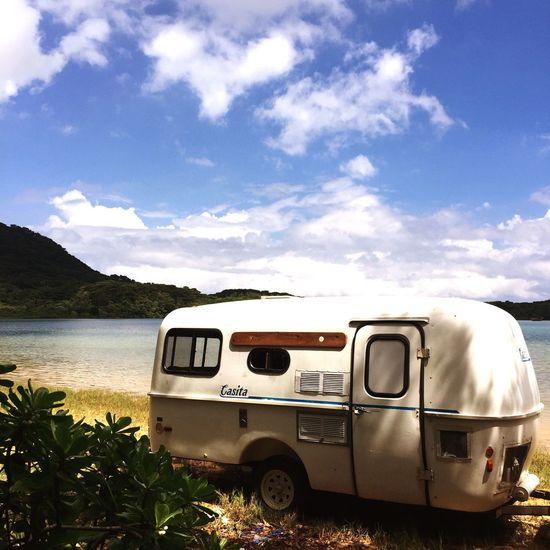 kabira Outdoors Beach Beauty In Nature Camp Camping Sky Ocean