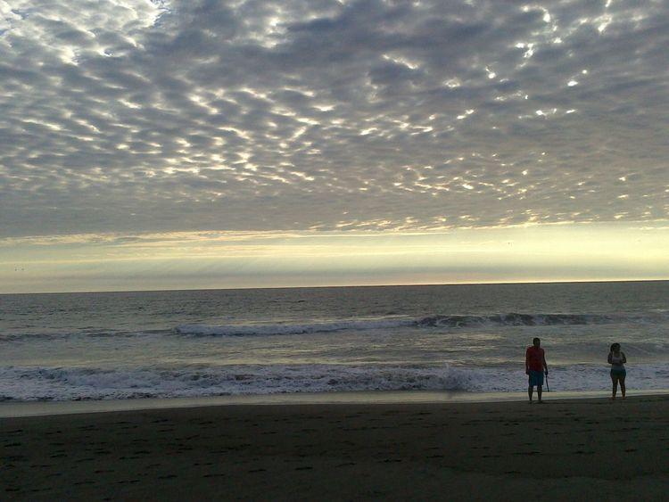 Chiapas, México Sinfiltroporqueporsisoloeshermoso Increibleeeeee!!!! Crepusculo Playa #beach Vacaciones🌴 Clouds And Sky