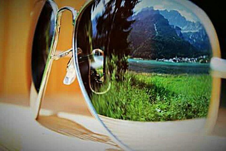 Lago Lagodialleghe Alleghe LakeAllegheItaly Riflessi Sull'acqua