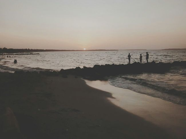 Playa Relaxing Vscocam VSCO Eye Em Eye Em Around The World Sea Atardecer