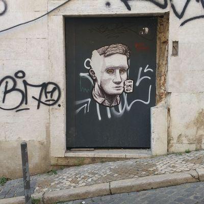 collage Street Art Graffiti Communication Art And Craft Close-up Architecture Building Exterior Human Representation Male Likeness