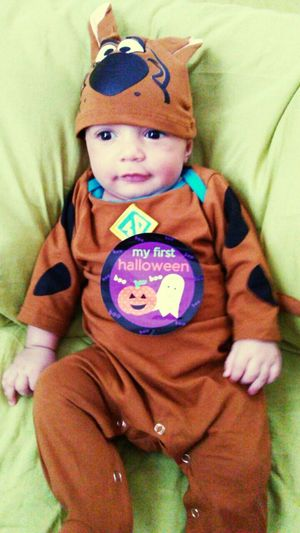 Boo 👻 Mi primer Hallooween Bby♥ Mauricio 🎃