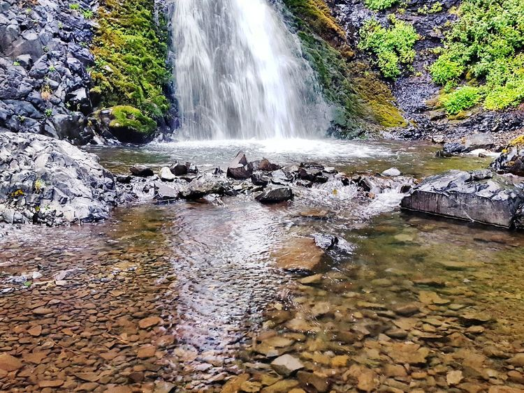 Below Dog Creek Falls, Columbia River Gorge, Washington State. Spraying Scenics Waterfall No People Rock - Object Water Rocks River Rocks Shallow Water Downstream Columbiagorge Columbiarivergorge Columbia River Gorge Washington State PNW Pacific Northwest  PNWonderland Pnwdiscovered Tranquility Tranquility Scene Tranquility Moments Nature Outdoors The Great Outdoors - 2017 EyeEm Awards Lost In The Landscape The Great Outdoors - 2018 EyeEm Awards