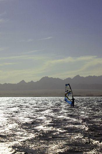 égypte Egypt Ägypten  Windy Strand Beach Sonne Windsurfing Hurghada Sea Egypt Hurghada 🌞