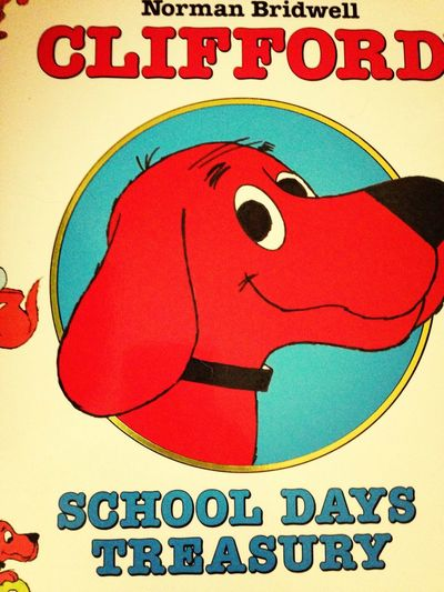 Big red dog Clifford Scholastic