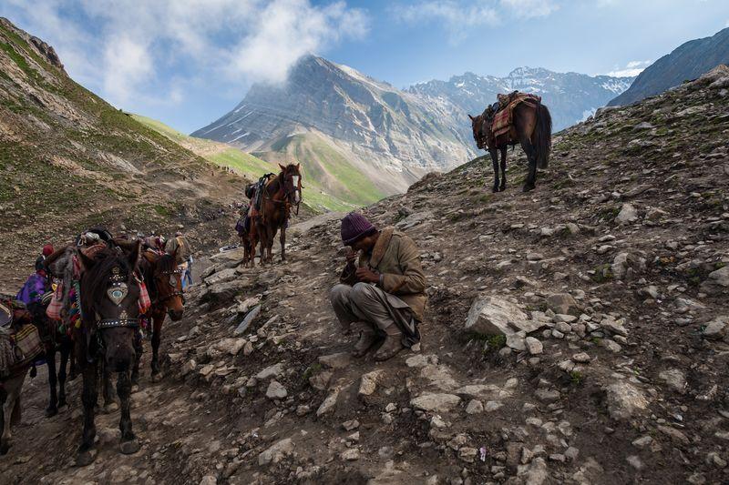 Berge Hiking