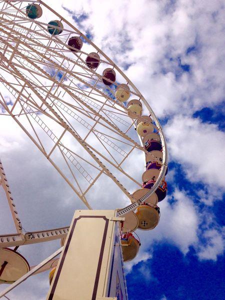 Ferris Wheel Riesenrad in Kiel Kielerwoche Kieler Woche Kiellinie