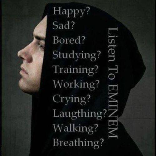 Day 17 Nothing to say :| Day17 Eminemquotes Photochallenge