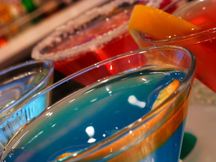 Liquid Lunch Colorful Colorful Drinks Martini Drink Drinking Drinks Cocktails Happy Hour 5:00 It's 5:00 Somewhere Bar