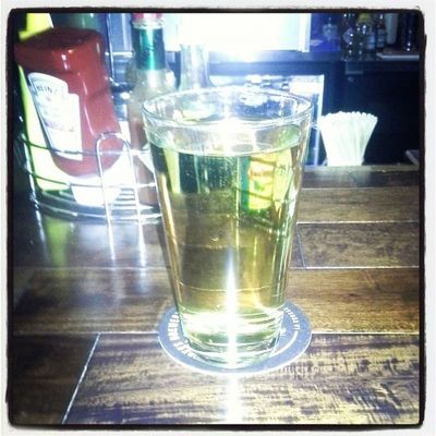 Pear beer is like heaven after a day I had ... yummy