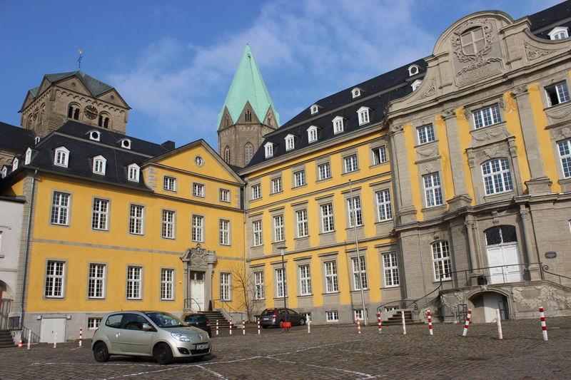 Abtei Architecture Essen-Werden Folkwang University