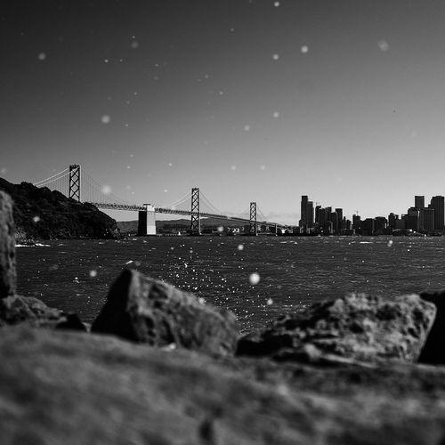 San Francisco Bay bridge, California, travel Walking Around Cityscapes Traveling