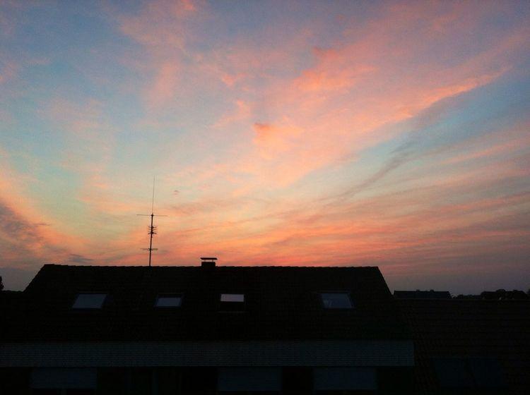 Wonderful sunset. Sunset Wonderful Sky