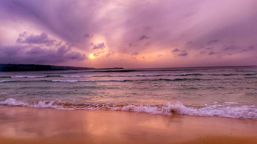Sunset Beach Sea Dramatic Sky Cornwall Life Cornwall Beach Sunset Stunning Sunset Beachphotography Beach Holiday Stunning Colours Beachscape Stivesbay Sunset_collection Cornwall Sunsets St Ives Bay Beach Sunset Sunset Silhouettes Beachtime Beauty In Nature Cloud - Sky