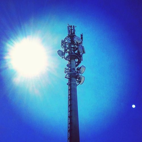 Sun Moon Goodvibrations Telecommunications Telecom Blue Cobalt Blue By Motorola