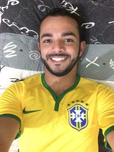 Vamos torcer pela seleção! Hello World Selfie Brasil Copadomundo