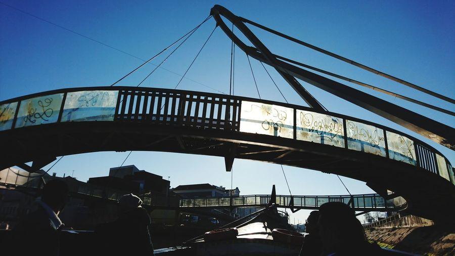 Footbridge over