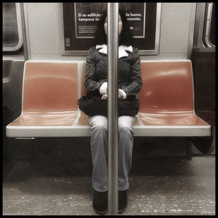 Sybil Transportation Indoors  Seat Vehicle Seat No People Low Section Day The Street Photographer - 2017 EyeEm Awards Street Photography New York City Streetphotography NYC EyeEm Best Shots BYOPaper!