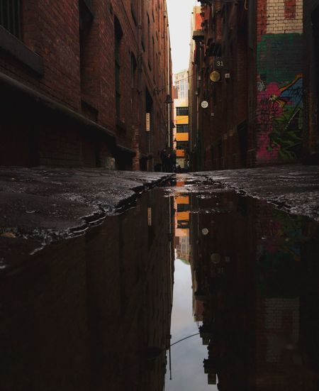 Architecture Reflection Built Structure Water Building Exterior Puddle Outdoors No People City Day Sky The Week On EyeEm The Week On EyeEm