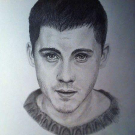 Art Drawing Logan Lerman