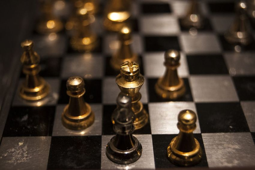 King. 365project A700 Photooftheday Yesterday Indoors  Chess Piece Chess No People Close-up Chess Board Queen - Chess Piece Day