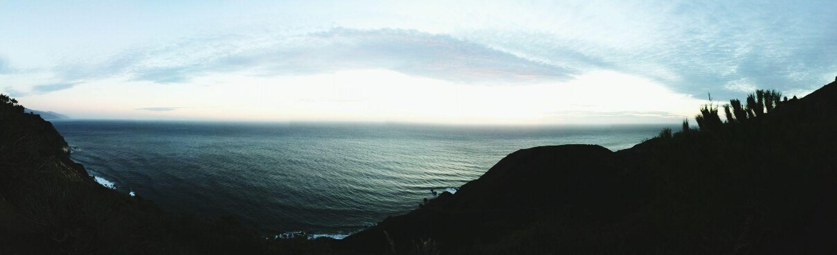 My Sunset spot a couple of days ago. California Bigsur 360 Panorama