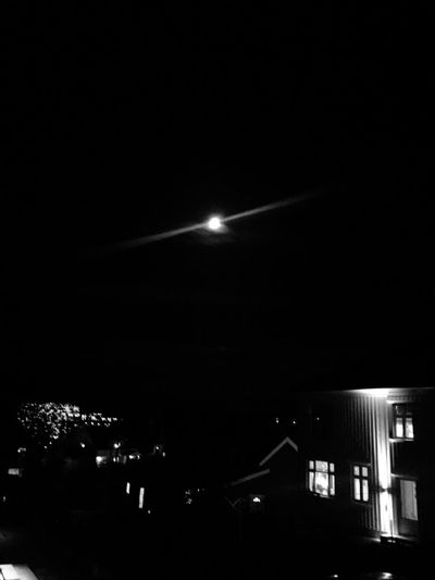 Night Illuminated Moon No People City Outdoors Sky Architecture Oslo Travel Photography Cool Nightlife Oslo Norway