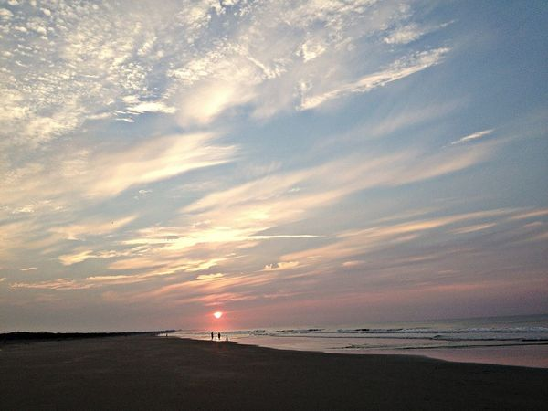 beautiful morning on the beach! EyeEm Best Shots EyeEm Best Shots - Landscape EyeEm Best Shots - Sunsets + Sunrise Sky_collection