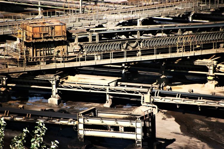 Architecture Brown Coal Excavation Fotoart Garzweiler Industrial Building  Industrial Photography Industriekultur Industry Lignite Excarvation Lignite Excavator Lignite Mining Lignite Mining Area Machinery Close Up Machinery Part No People Transportation