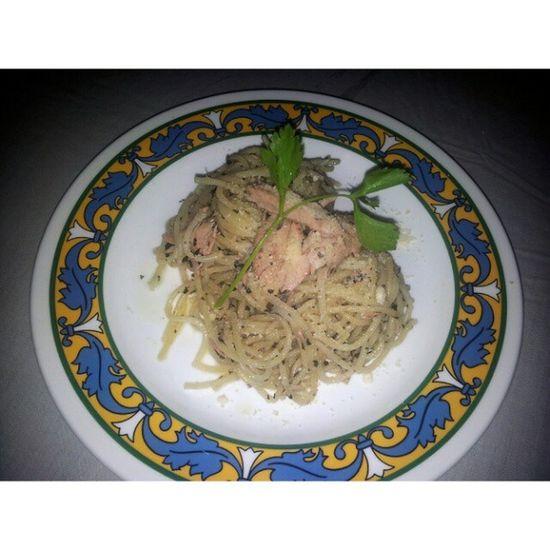 IGing this coz I made this shizz! Tunapesto Dinner Filipinosbelike Kain sarap feelingchef