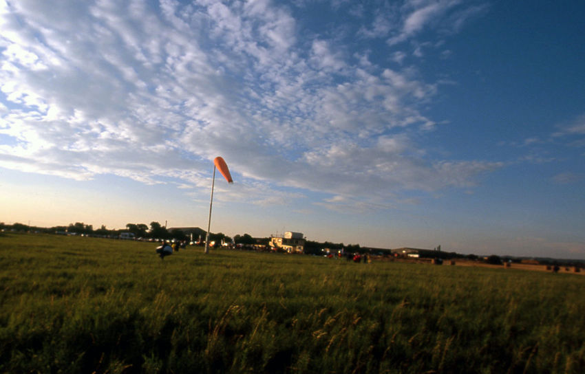 Airfield Drop Zone DZ Life Landscape No People Outdoors Sky Sunset Windsock