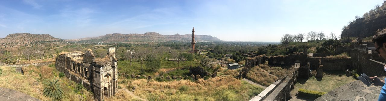 Aurangabad view Architecture Built Structure Sky Religion History Day Spirituality