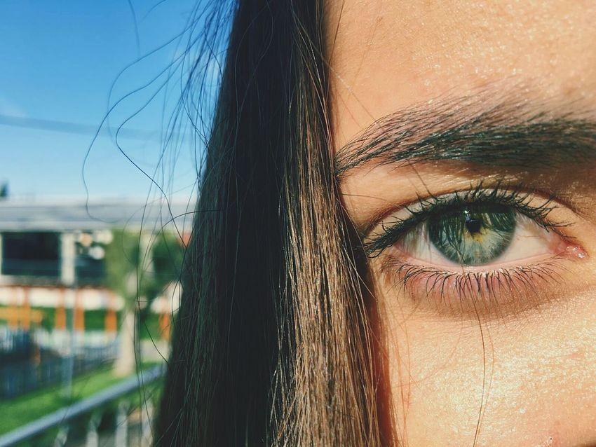 Imaginem a minha sorte ao ter uma amiga com uns olhos lindos para o meu feed 💙