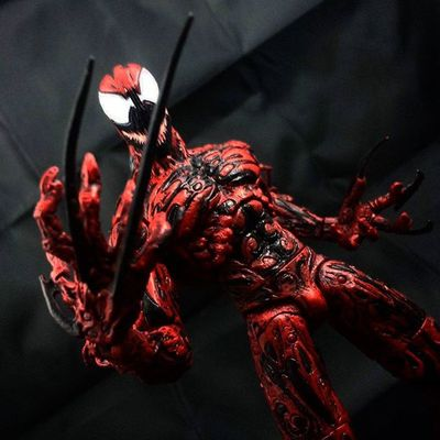 4 in my Top10 Actionfigures of the year: Marvel Select Carnage Carnage Cletuskassidy Symbiote Spiderman Marvel Marvelselect Diamondselect Toys Toyphotography Toypizza Toysarehellasick Toycollector Toycommunity Toycollection Thefigureverse Ata_dreadnoughts ATA_MARVEL Toyslagram Toyunion