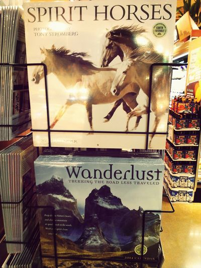 Like Wunderlist but with Wanderlust, AND WITH SPIRIT HORSES.