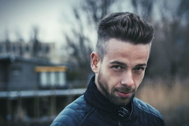 EyeEm Selects Portrait Winter Cold Temperature Warm Clothing Looking At Camera Macho Headshot Beard Men Confidence